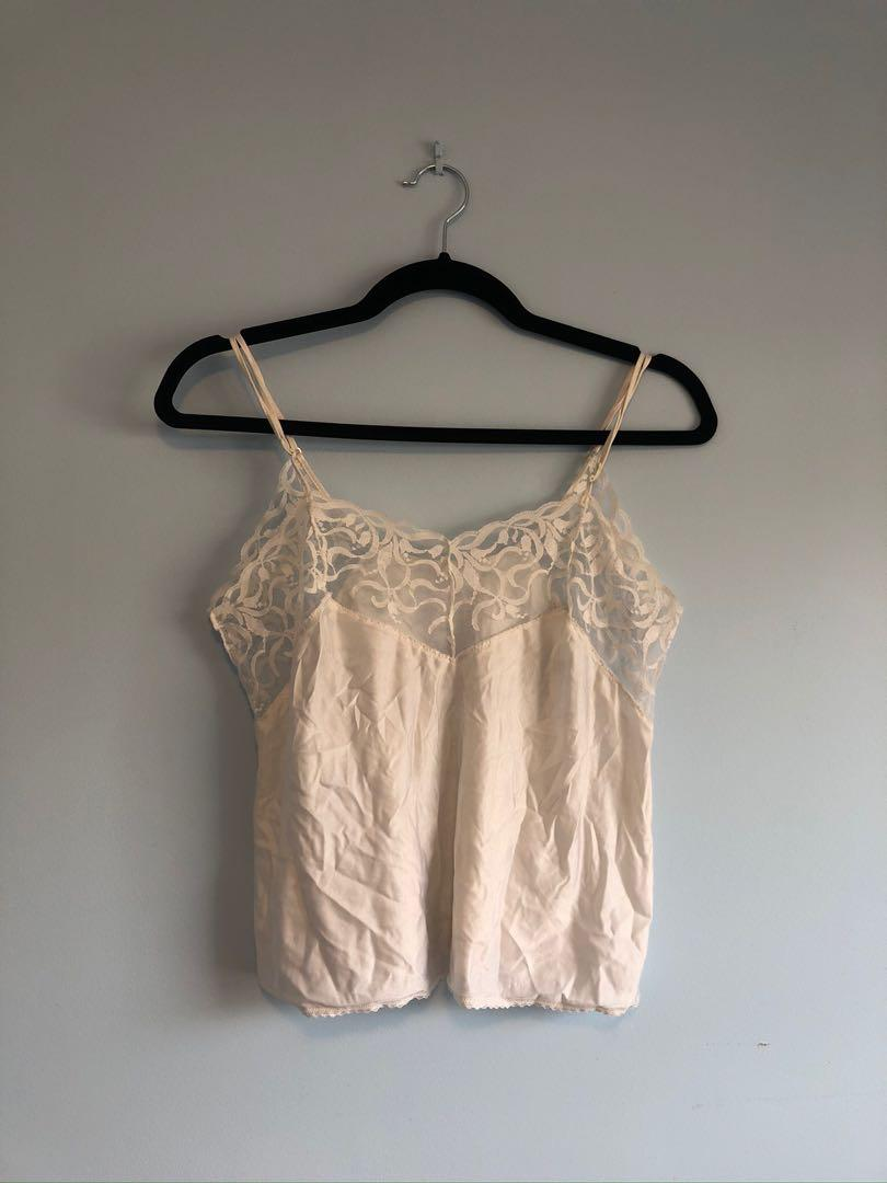 Vintage white camisole