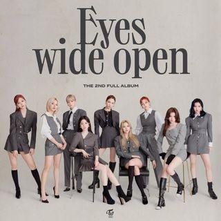 [WTS]: Twice Eyes wide open ALBUM SET (3 Albums)