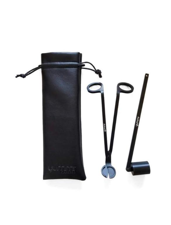 Yummi Candle Wick Trimmer & Snuffer Pouch Kit
