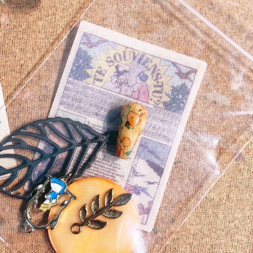 🎁免費贈送!全新久置手工藝小配件|材料、手作、貝殼、樹葉、愛麗絲