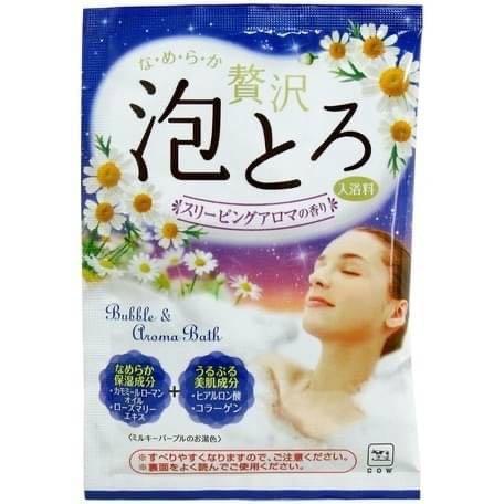 ❤️ 日本🇯🇵代購—日本製牛奶泡泡浴30g(一組三包),JP20101610360