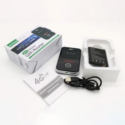 品名: 3G/4G LTE行動Wi-Fi分享器無線隨身WiFi攜帶式分享器SIM卡插卡(黑色) J-14453