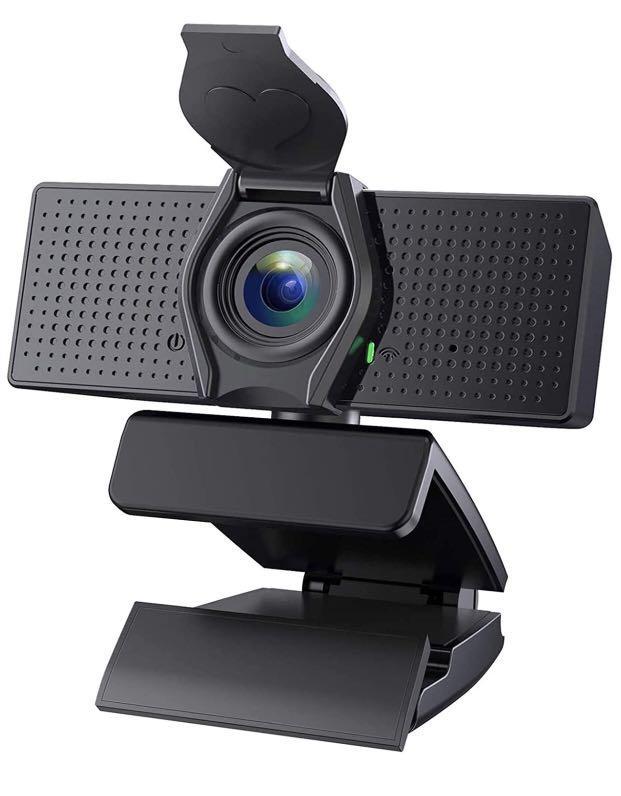 Brand new 1080P Webcam, Built-in Microphones