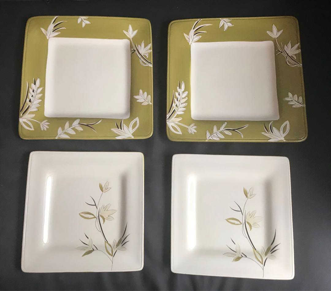 Brand new Laurie Gates serving dish / plate x 4