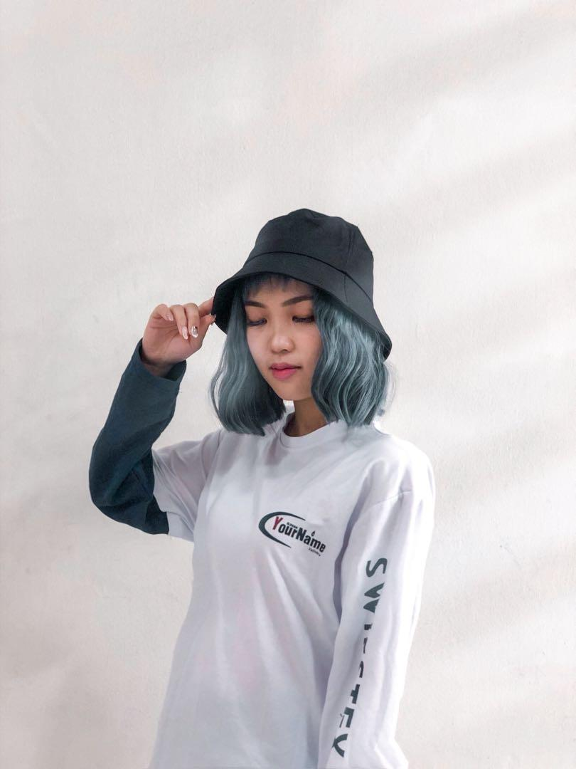 Bucket Hat Wig Women S Fashion Accessories On Carousell