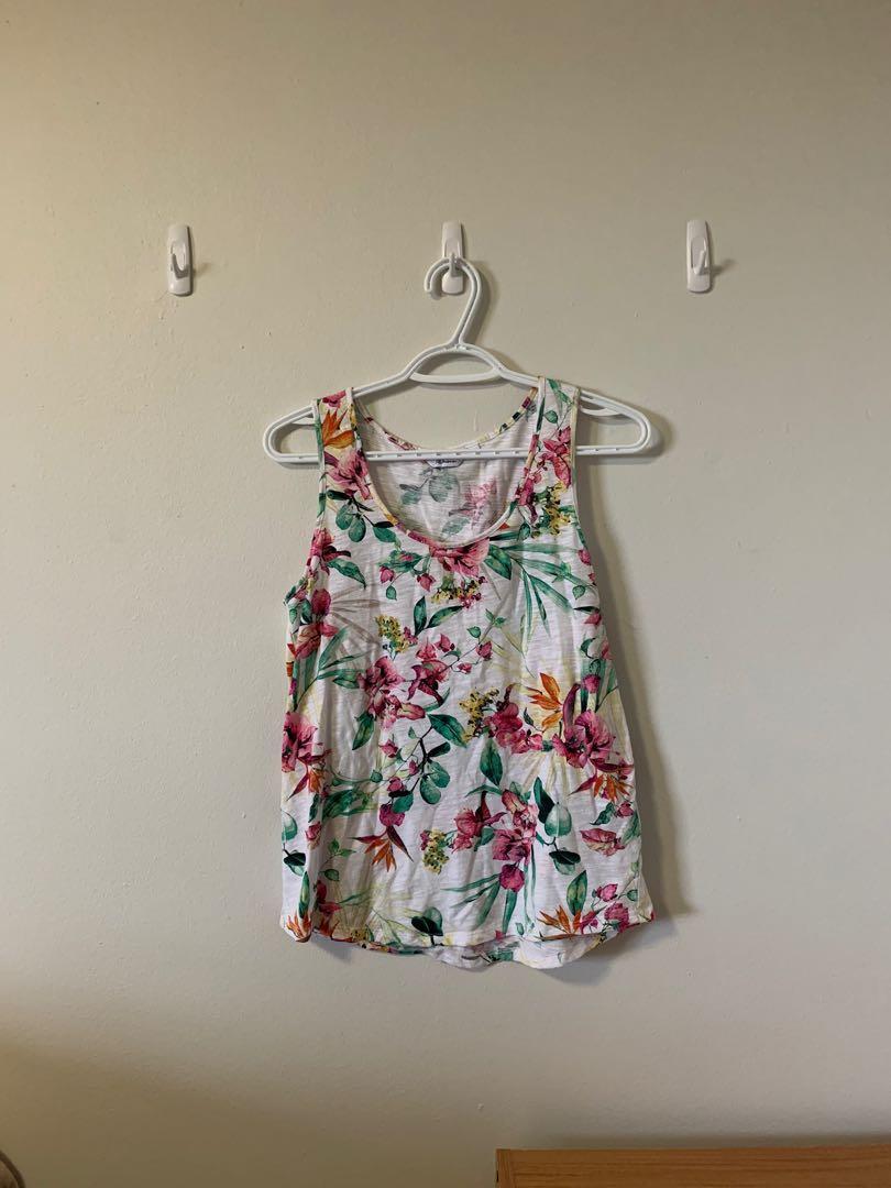 Floral Summer Tank Top