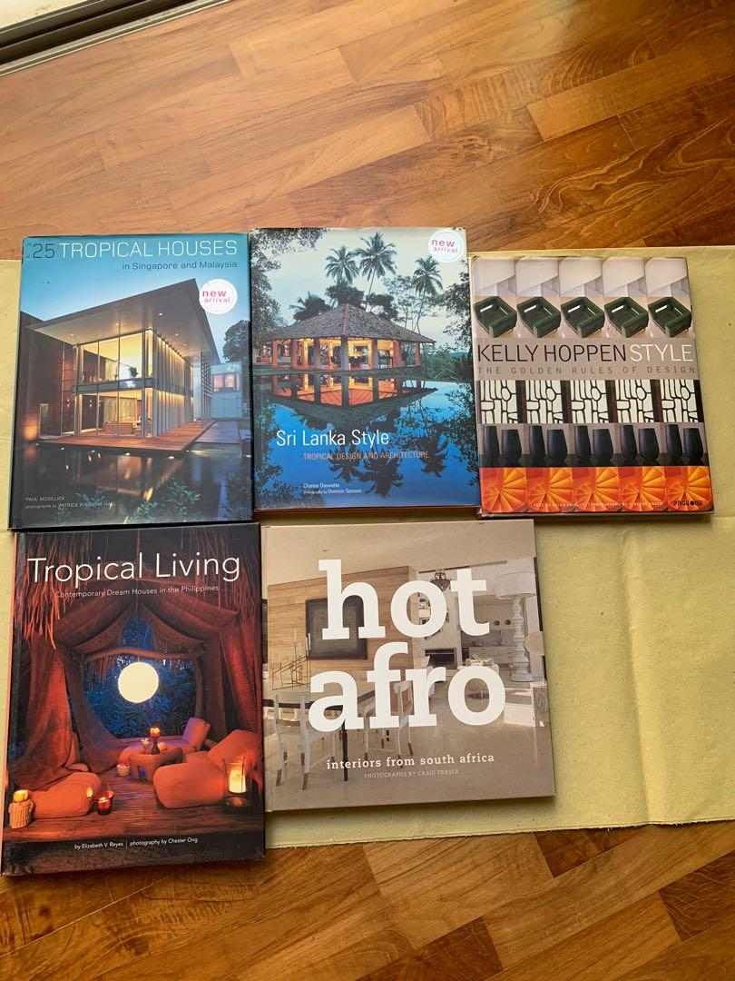 Interior Design Coffee Table Books Books Stationery Magazines Others On Carousell