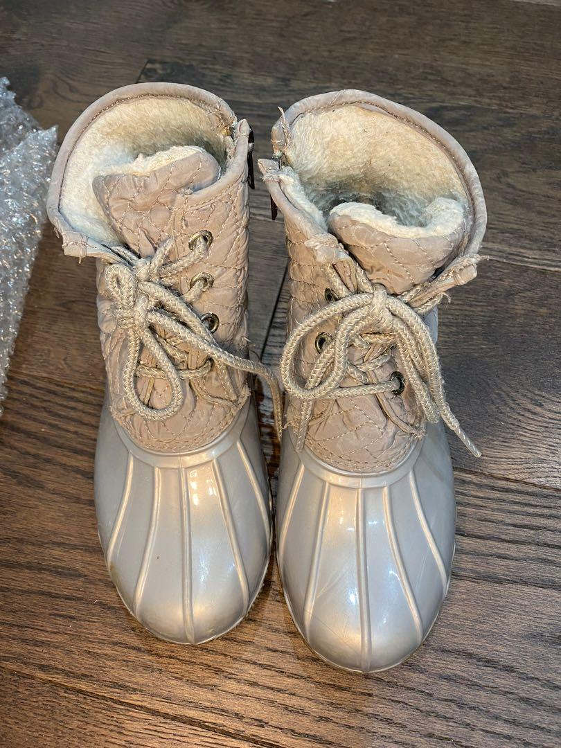 Kids girls George winter boots size 3 youth