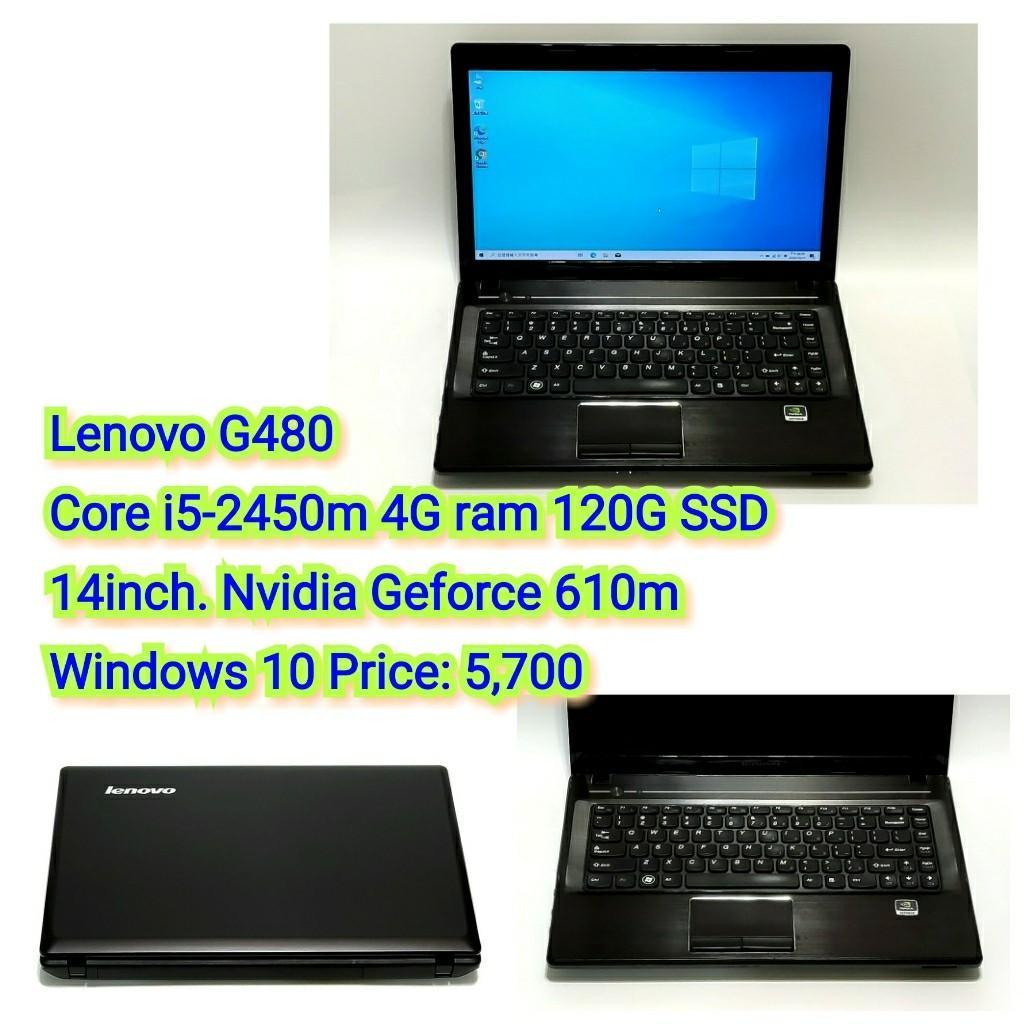 Lenovo G480 Core i5-2450m