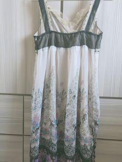 M號雪紡連衣裙