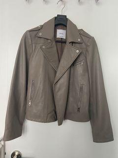 Mango Genuine Leather Jacket