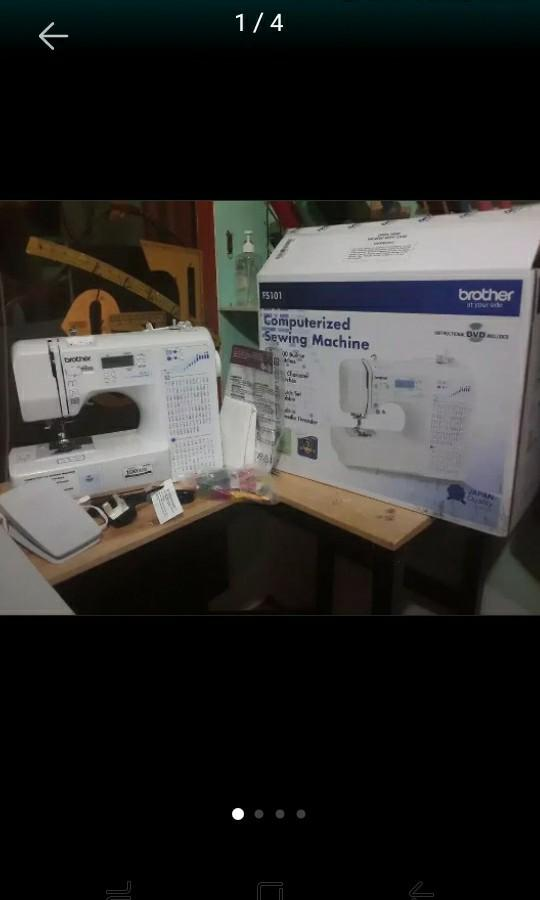 MESIN JAHIT BROTHER FS101 Computerized