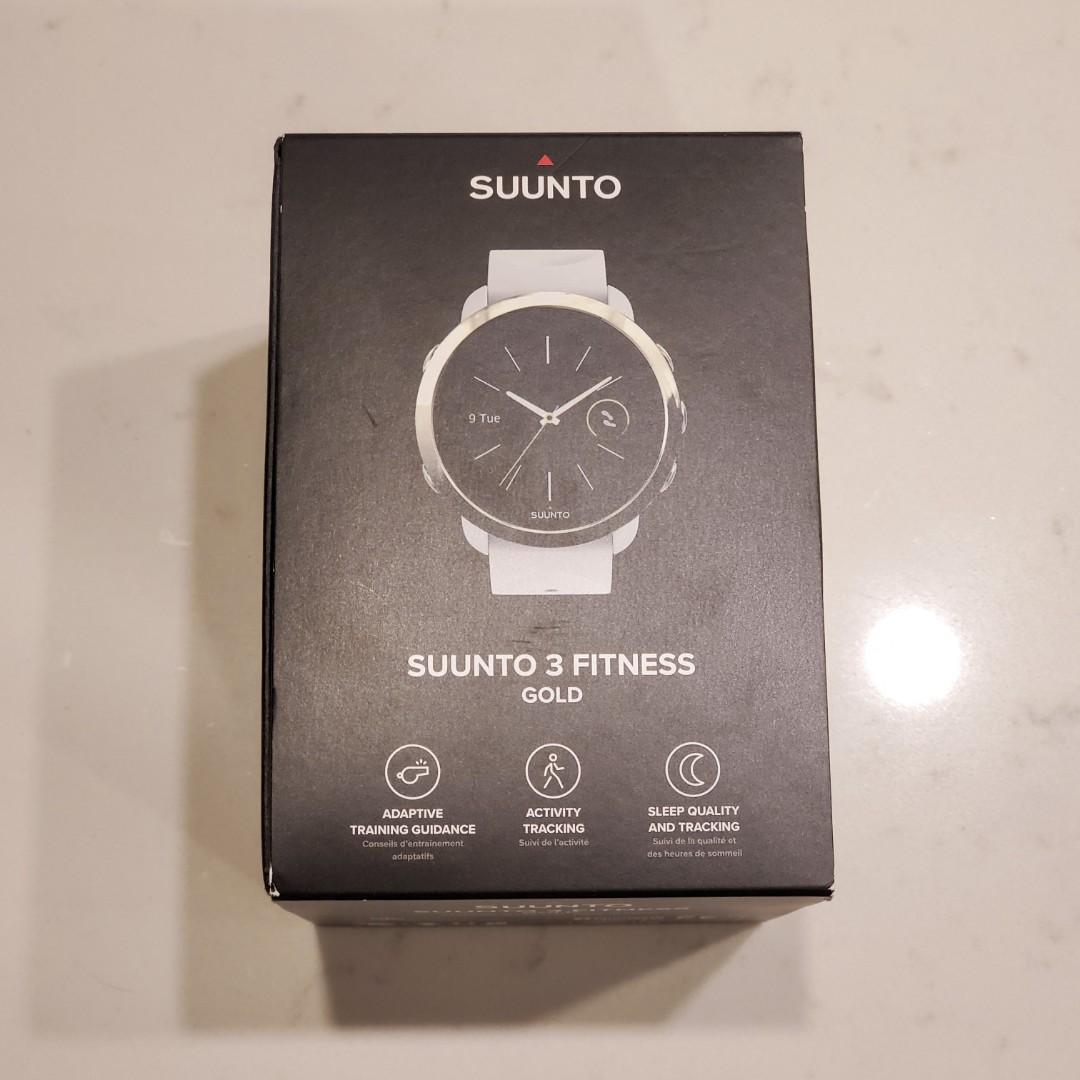 [NEW] Suunto 3 Fitness Watch Gold