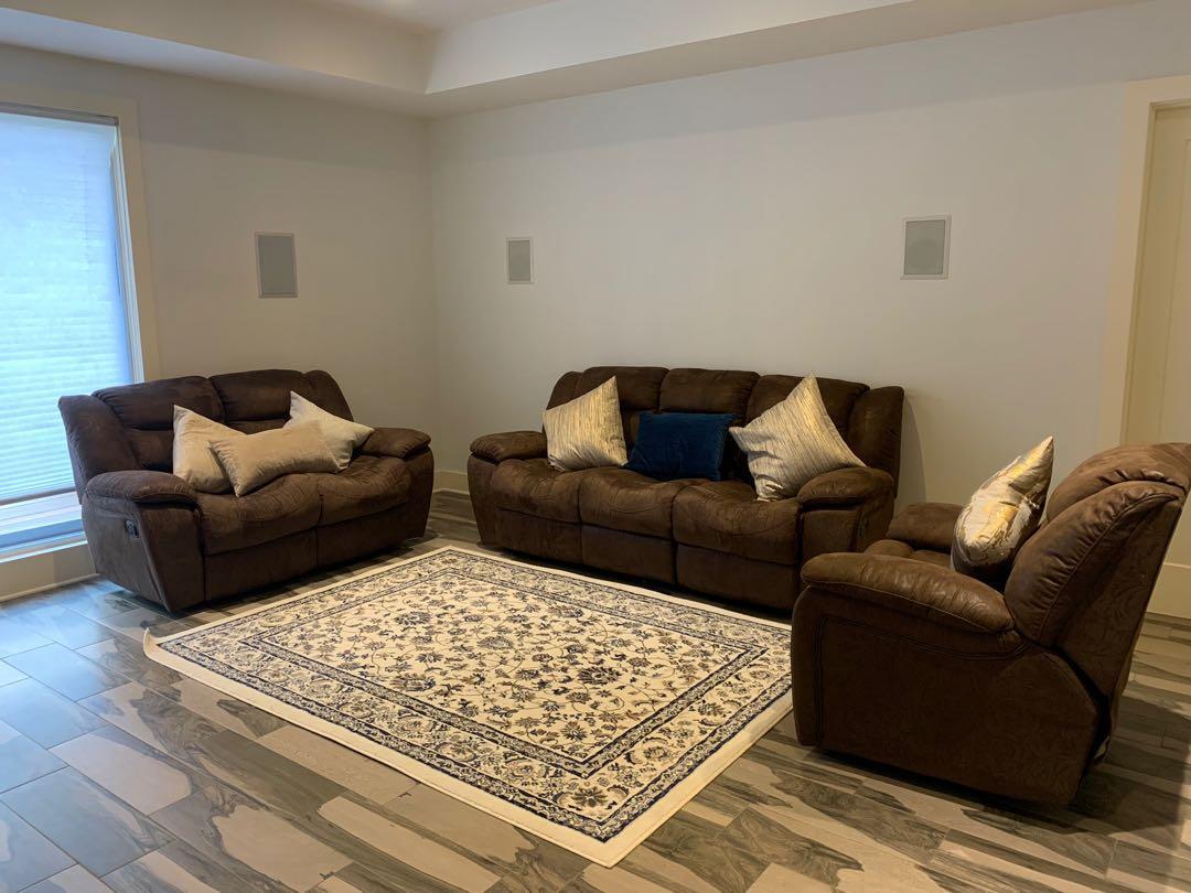 Recliner Living Room Sofas