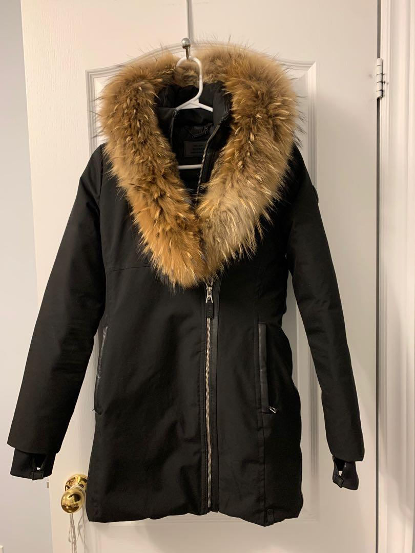 BRAND NEW with tags Rudsak MONTREAL Down Parka With Fur XS