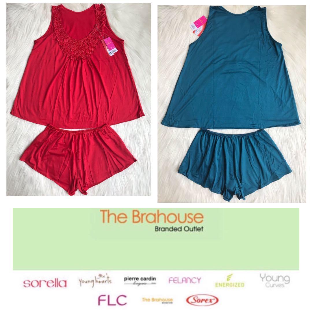The brahouse baju tidur wanita setelan original branded sale full label