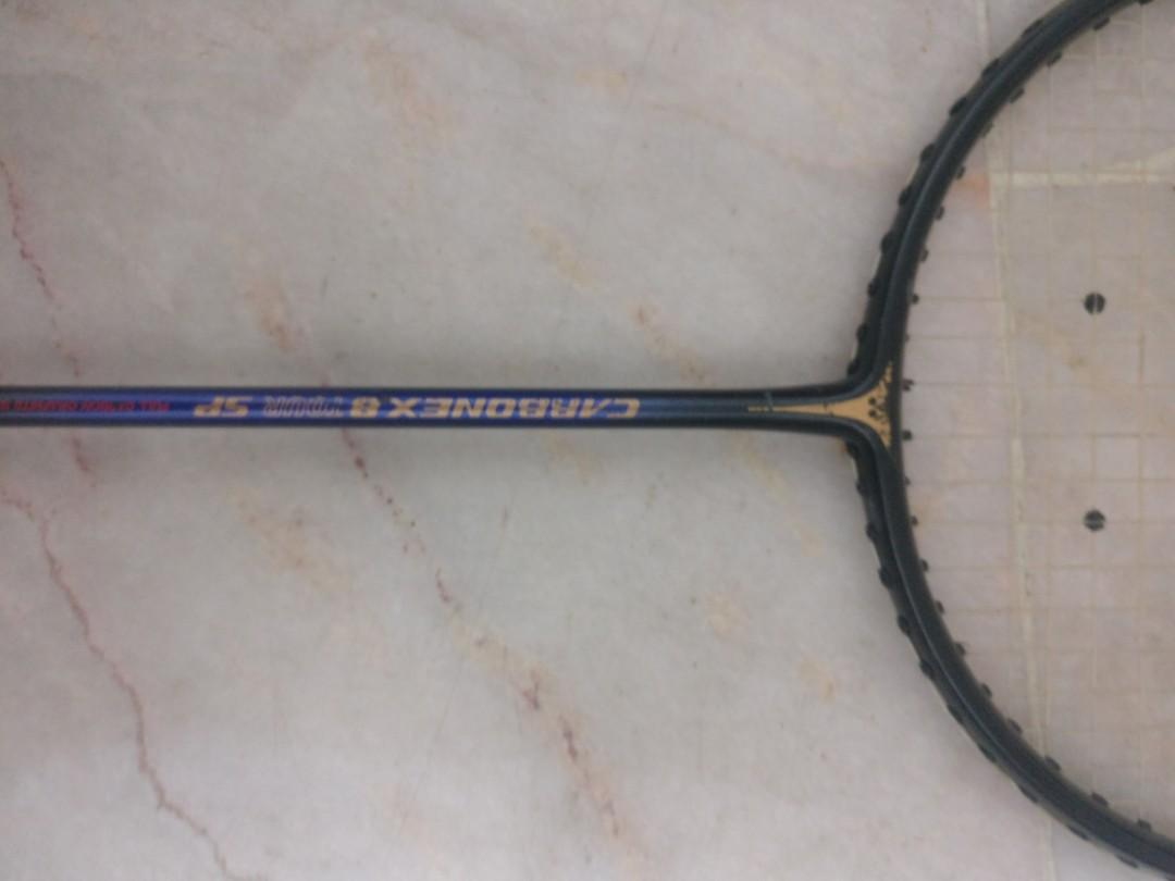 Yonex Carbonex 8 Tour Sp Full Carbon Graphite Shaft Made In Japan Badminton Racket Racquet Sports Other On Carousell