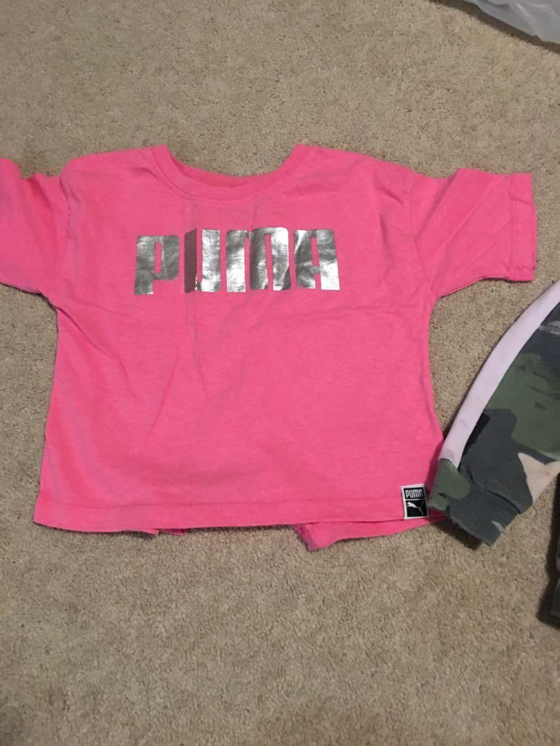 4t puma shirt and sweater