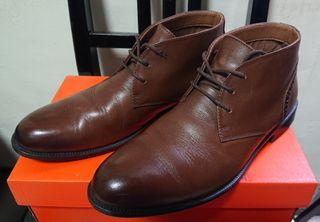 美國 Bass 男 短靴 flex step Chukka boot 8M