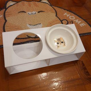 貓碗架 Cat bowl stand