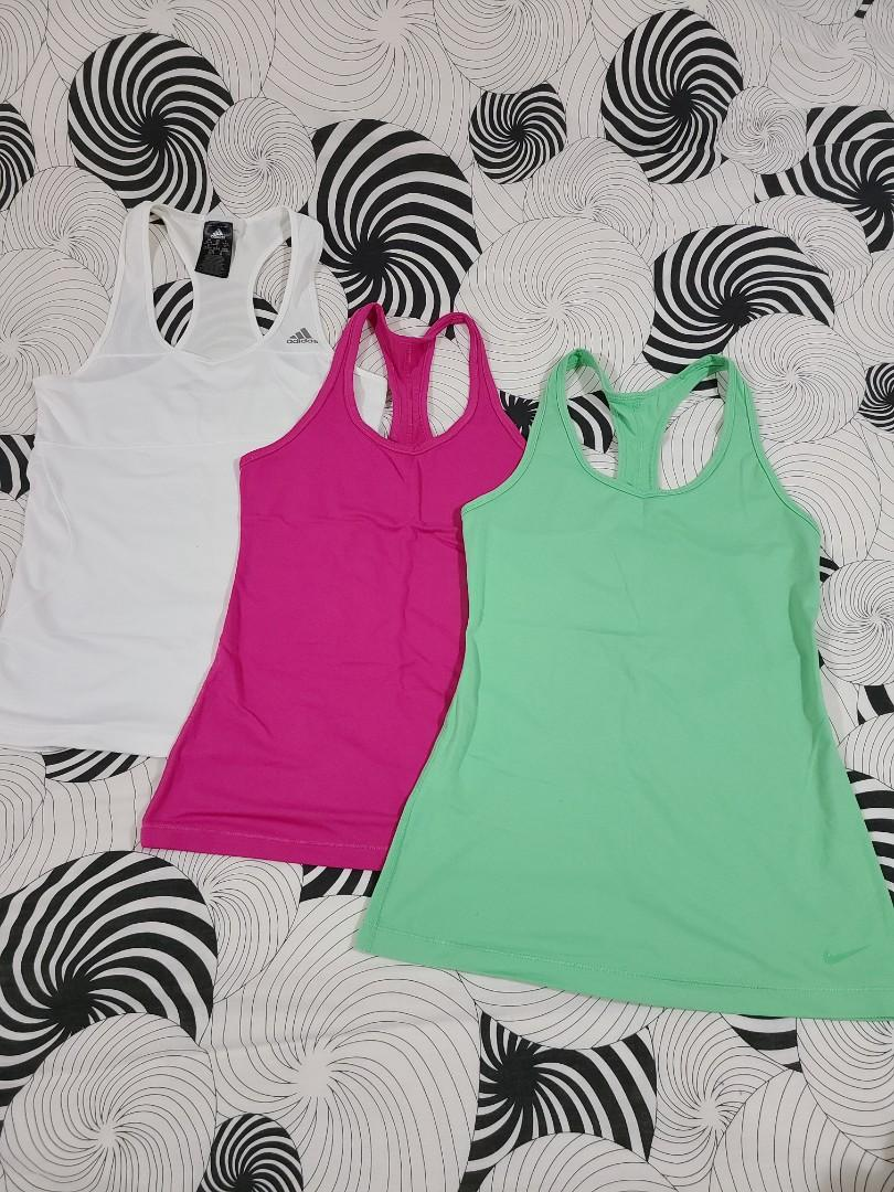 Adidas Nike Tanks (Set of 3)