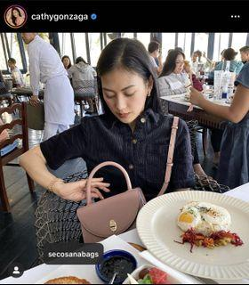 Alex Gonzaga Collection • Top handle bag by Secosana
