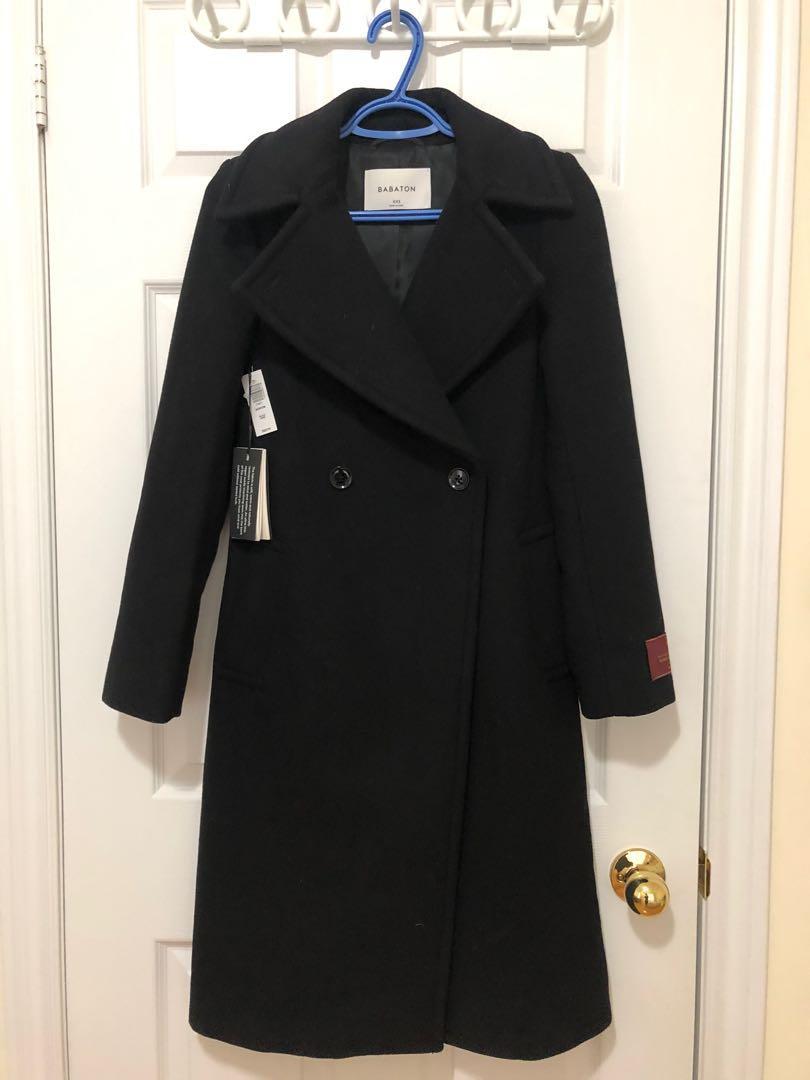 Aritzia Babaton Benton Wool coat