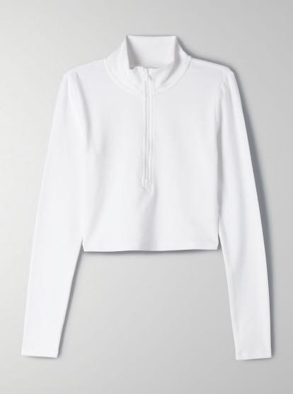 ARITZIA SUNDAY BEST HALF ZIP