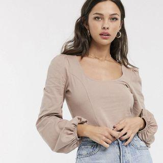 Asos Fitted Crop Top