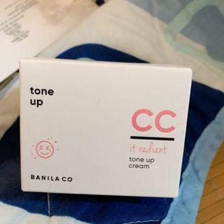 banila cc tone up cream 提亮霜