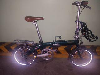 Bickerton Pilot 1407 Size 16, 7 speed Folding Bike similar to  Tern or  Dahon