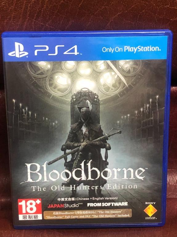 Bloodborne The Old Hunters Edition 血源詛咒 遠古獵人 中英文版 PS4 遊戲 二手