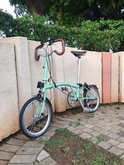 Brompton P3L 2015 Folding Bike (Light Worn)