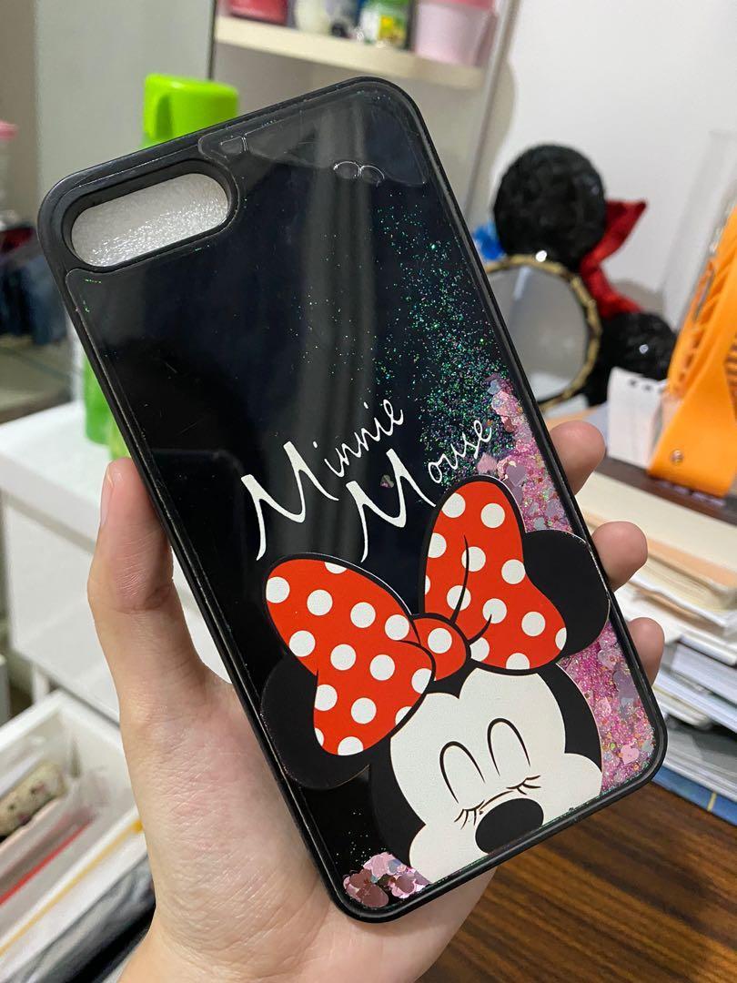Case iPhone 7 DISNEY MINNIE MOUSE GLITTER