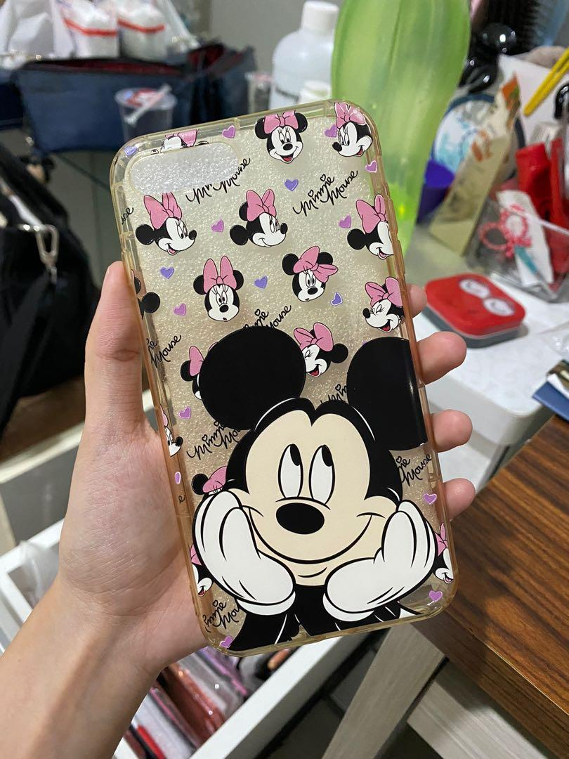 CASING MICKEY MOUSE BENING IPHONE 7 PLUS IMPORT