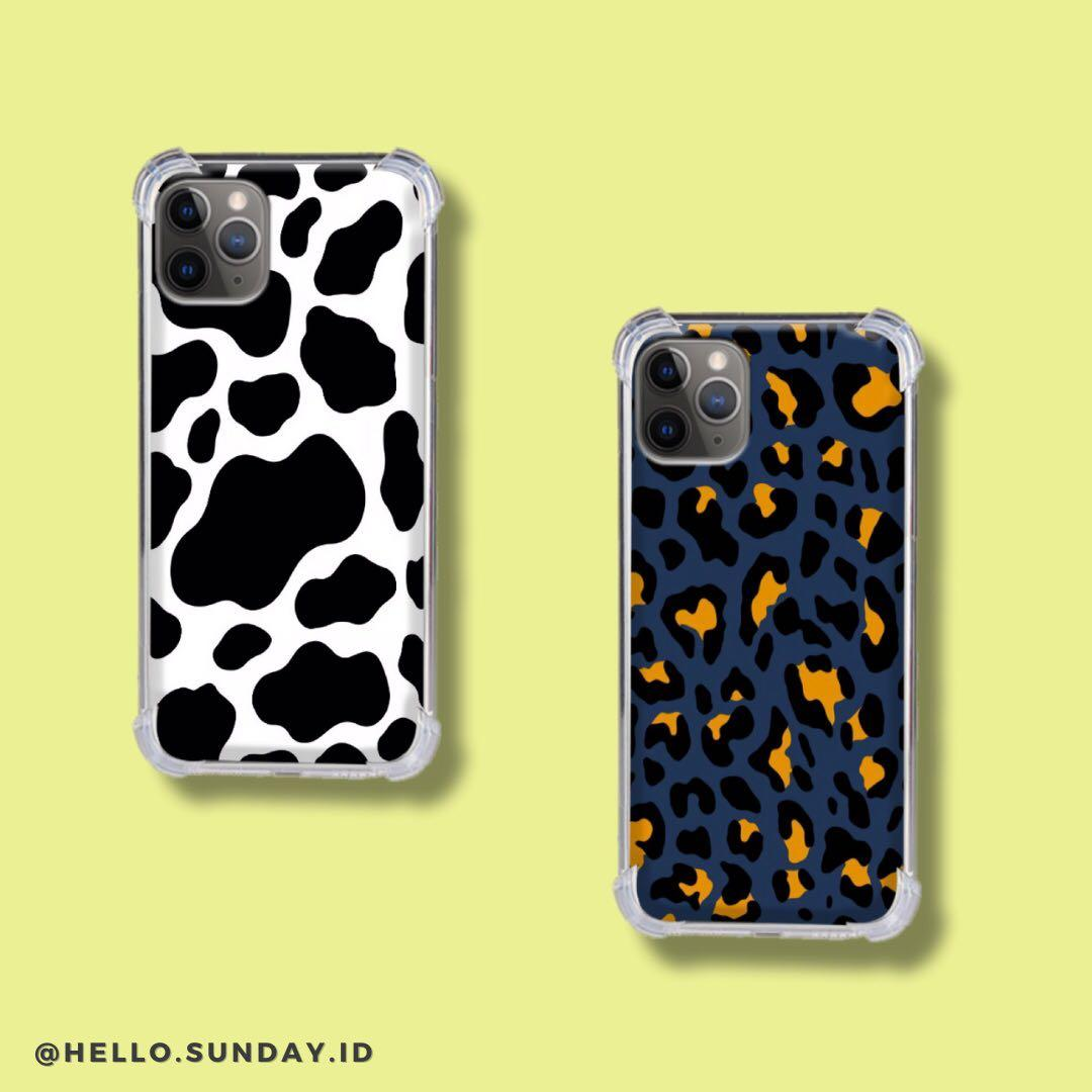 Custom Phone Case / Leopard Clear Softcase