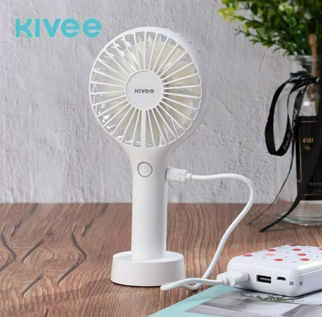 Fan Mini kive / Kipas Angin Mini USB Rechargeable