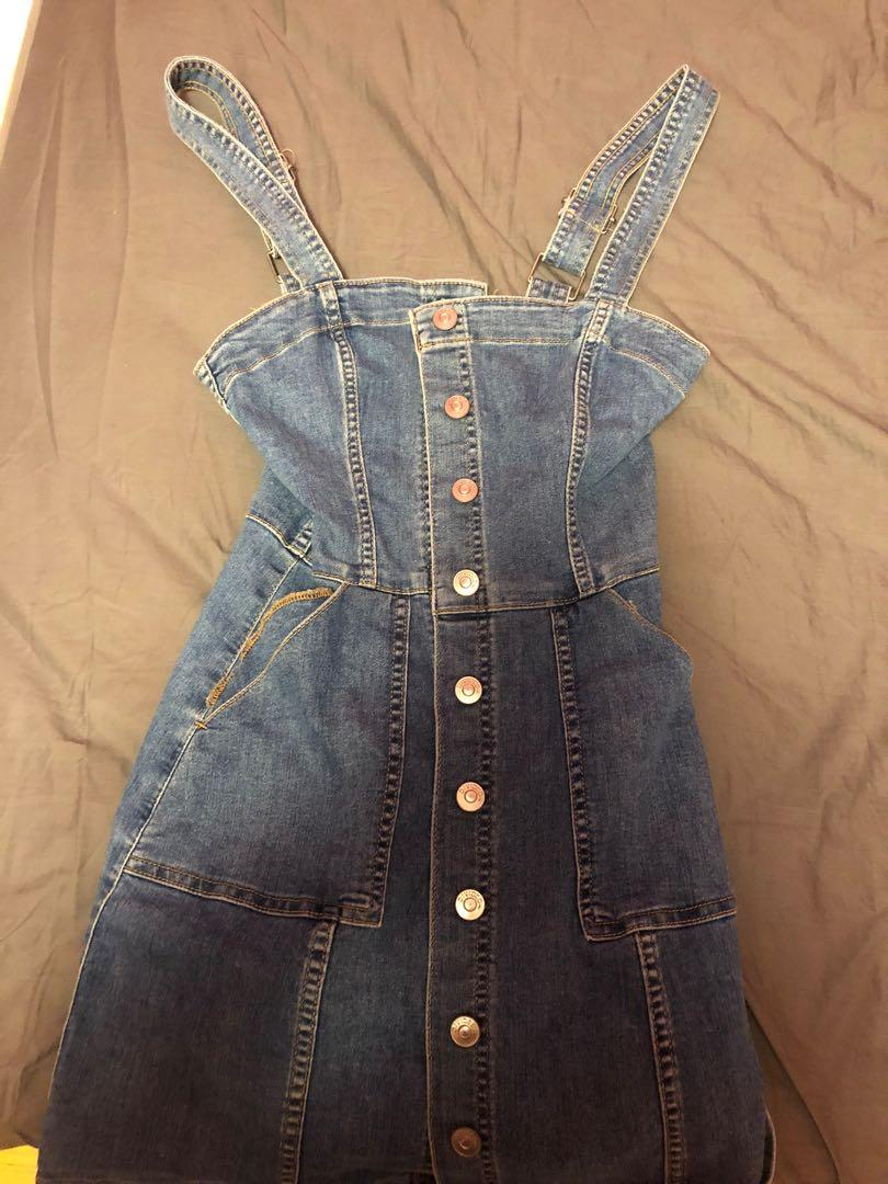 Forever 21 Jean Dress (size 2)