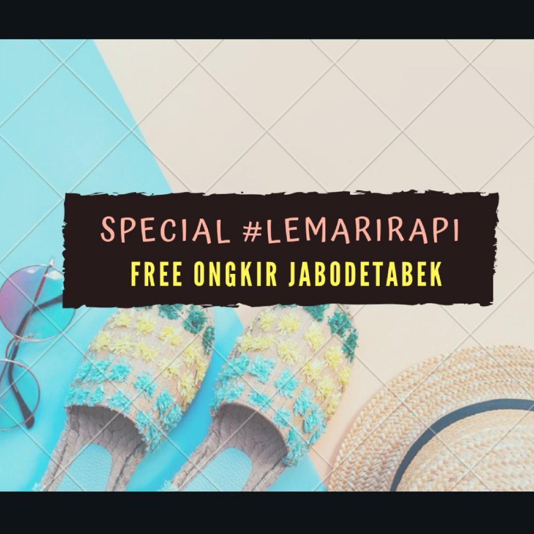 Free Ongkir Jabodetabek