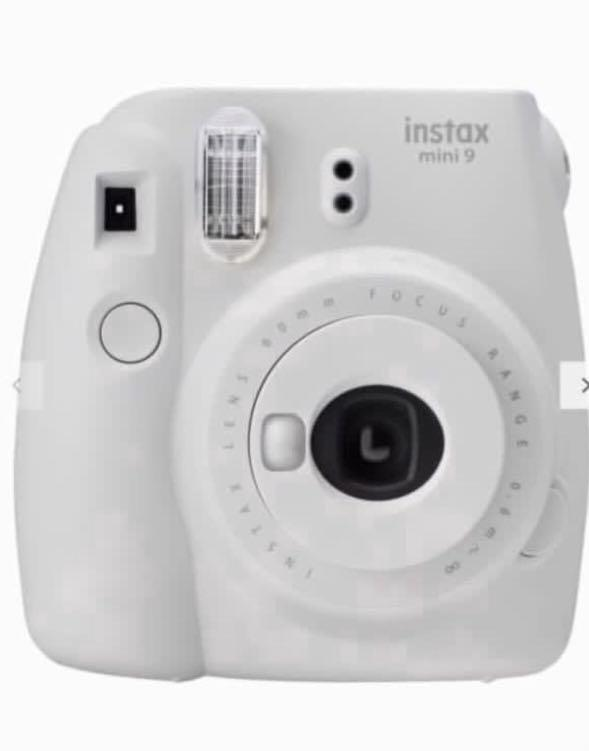 Fujifilm Instax Mini 9 Instant Camera with 10 Shots of Film Built-In Flash &Hand Strap