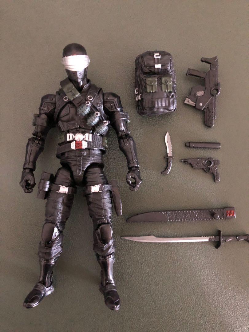 Joe Classified Series Snake Eyes Action Figure 02 Collectible Premiu Hasbro G.I