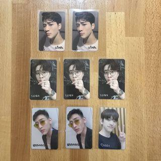 got7 dye thai photocard pc