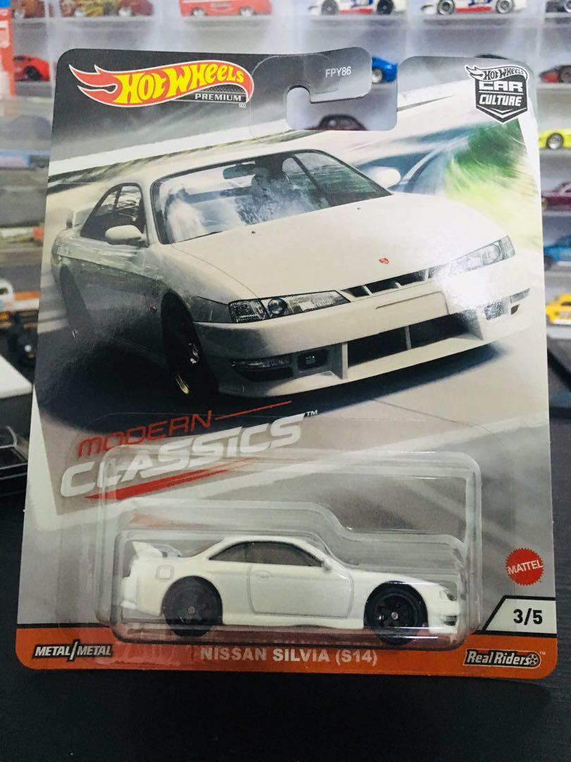 Hotwheels Nissan Silvia S14 Toys Games Diecast Toy Vehicles On Carousell