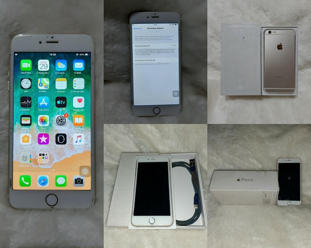 iPhone 6 plus gold 16gb
