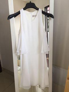 Sale Jolie Clothing Dress Fit and Flair White