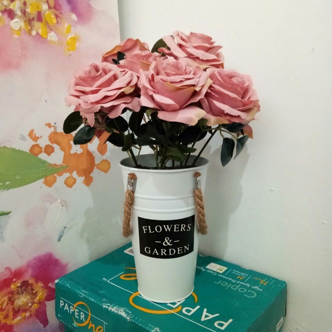 #Lemarirapi Bunga Pajangan