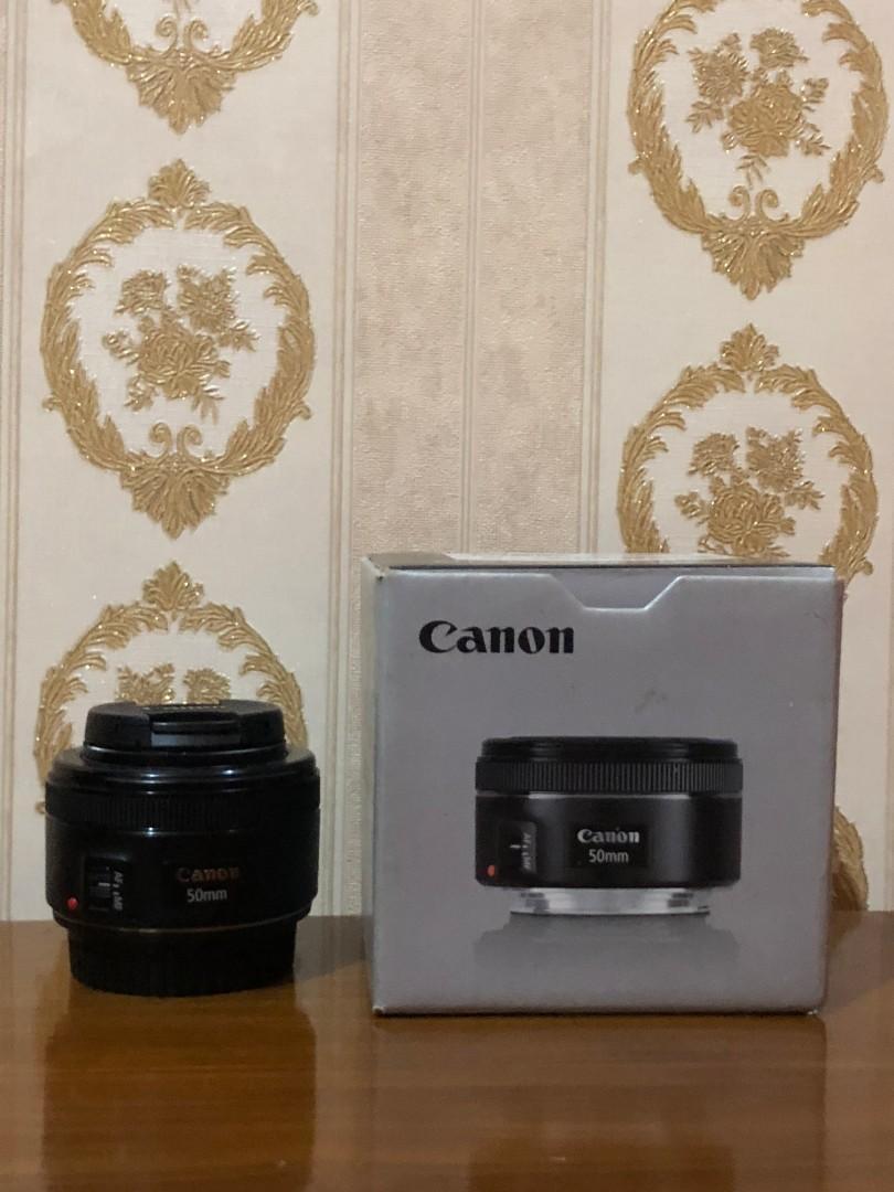 Lensa Canon EF 50mm STM