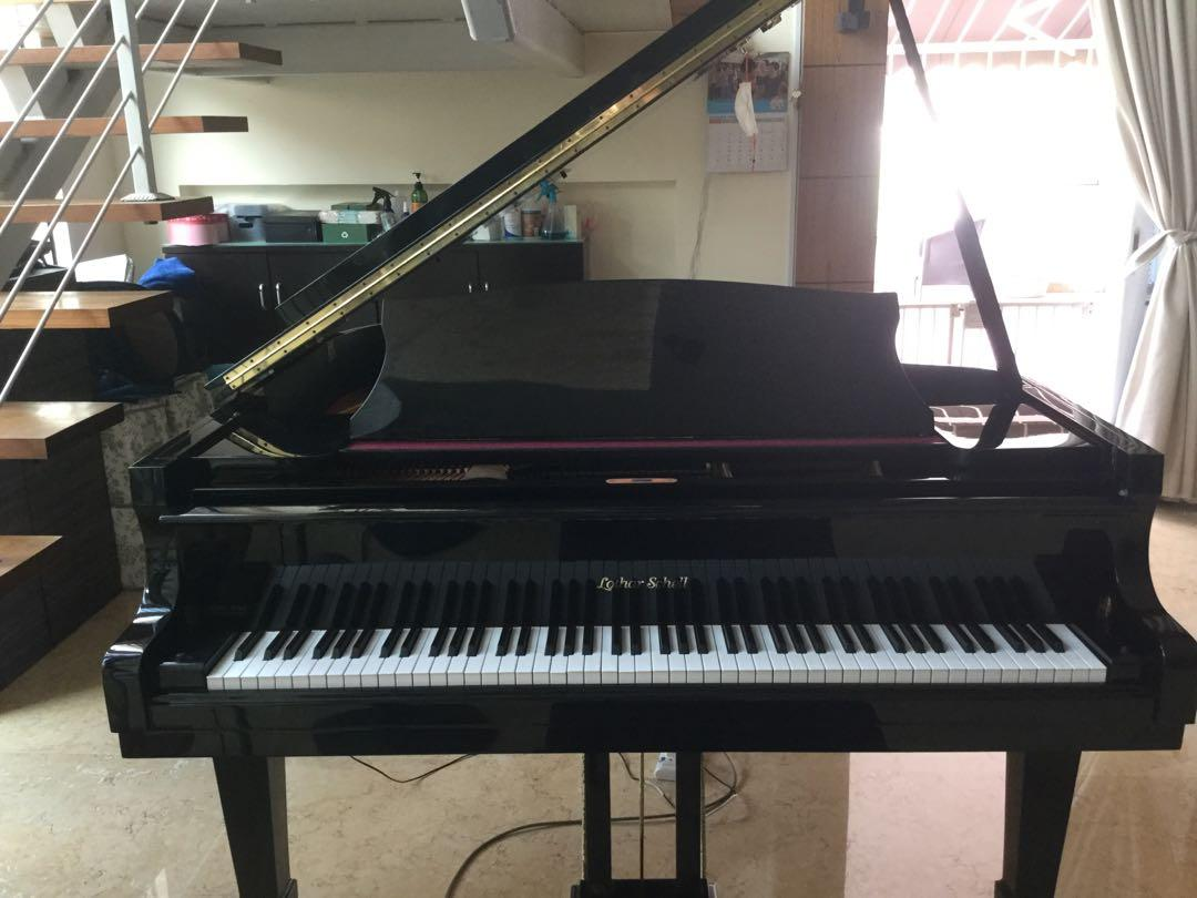 Lothar Schell Baby Grand Piano Music Media Music Instruments On Carousell