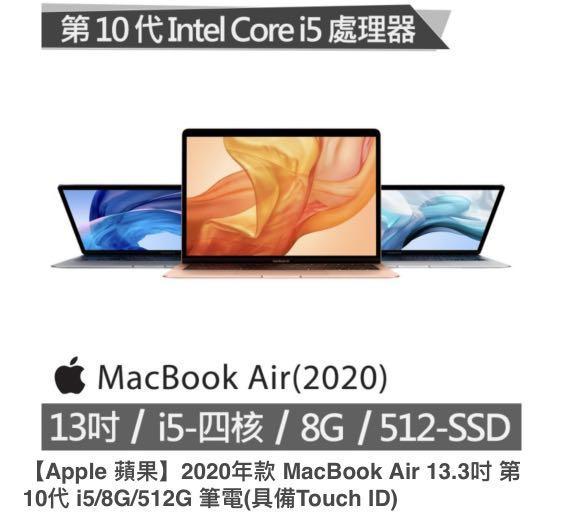 MacBook Air 1.1GHz 4 核心
