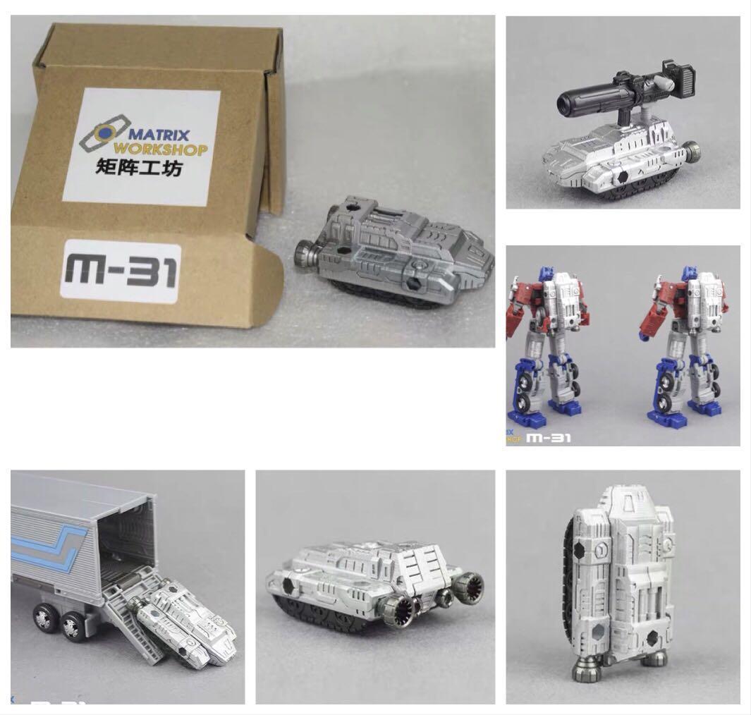 Matrix Workshop M-31 upgrade kit for transformers Earthrise Optimus Prime